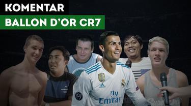 Peluit kali ini akan mencoba bertanya kepada masyarakat, kira - kira Cristiano pantaskah meraih gelar Ballon d'Or 2017?