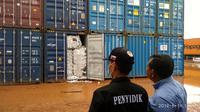 65 kontainer sampah di Batam. Liputan6.com/Ajang Nurdin
