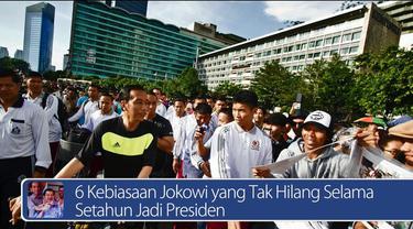 Daily TopNews hari ini akan menyajikan berita seputar 6 Kebiasaaan Jokowi yang tak hilang selama setahun jadi Presiden dan emas Freeport bisa bawa rupiah menguat ke 5.000 per dollar AS. Saksikan video selengkapnya di sini