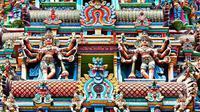 Ilustrasi kuil Hindu di India (iStock)