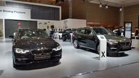 BMW ikut hadir di acara IIMS 2018 yang berlangsung di JIExpo, Kemayora, Jakarta, 19-29 April 2018. (Herdi Muhardi)