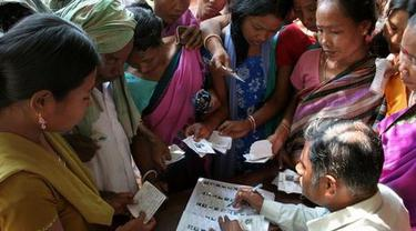 India Gelar Pemilu Terbesar Sedunia Hari Ini