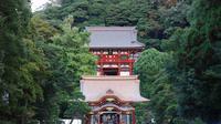 Pengunjung memadati jalan masuk Tsurugaoka Hachiman-gū di Kamakura, Jepang. (Creative Commons)