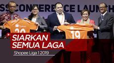 Berita Video Catat! Shopee Liga 1 2019 Mulai Tayang Besok di Indosiar
