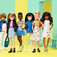 Barbie melansir koleksi boneka inklusif untuk ajarkan anak bebas mengekspresikan diri (Foto: instagram/creatableworld)