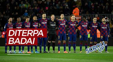 Berita video Scroll Up kali ini membahas krisis masalah yang dialami oleh team sepak bola Spanyol, Barcelona.
