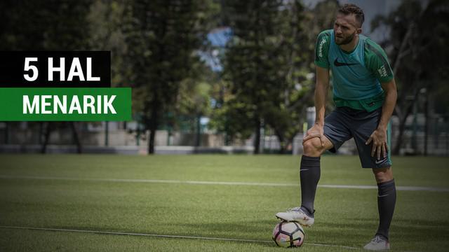 Berita video 5 hal menarik tentang Ilija Spasojevic saat berlatih bersama Timnas Indonesia U-23.