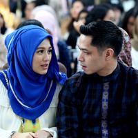 Tanggal 19 Februari 2015, Dude Harlino dan Alyssa Soebandono dikaruniai anak yang bernama Muhammad Dirgantara Ariendra Harlino. (Wimbarsana/Bintang.com)