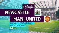 Premier League_Newcastle United Vs Manchester United (Bola.com/Adreanus Titus)