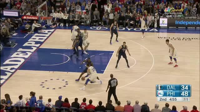 Berita video game recap NBA 2017-2018 antara Philadelphia 76ers melawan Dallas Mavericks dengan skor 109-97.