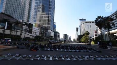 Pasca Aksi 22 Mei, Jalan MH Thamrin Masih Ditutup