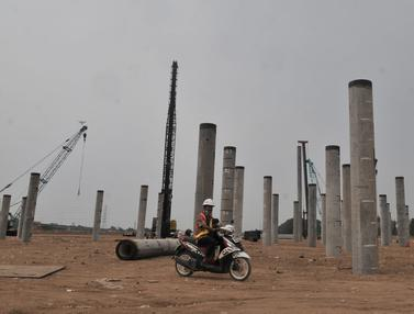 Memantau Progres Pembangunan Stadion BMW