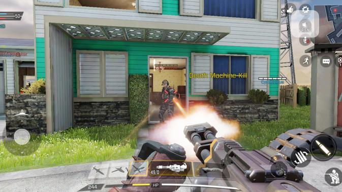 Call of Duty Mobile di Poco F2 Pro. Liputan6.com/Mochamad Wahyu Hidayat