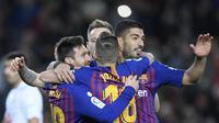 Kepergian Xavi dan Iniesta tentu menghilangkan warna khas dari Barcelona. Namun perlahan tapi pasti Barcelona kini sudah terlihat semakin seimbang. (AFP//Lluis Gene)