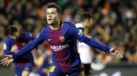 8. Philippe Coutinho (Barcelona) - 30 juta euro. (AP/Alberto Saiz)