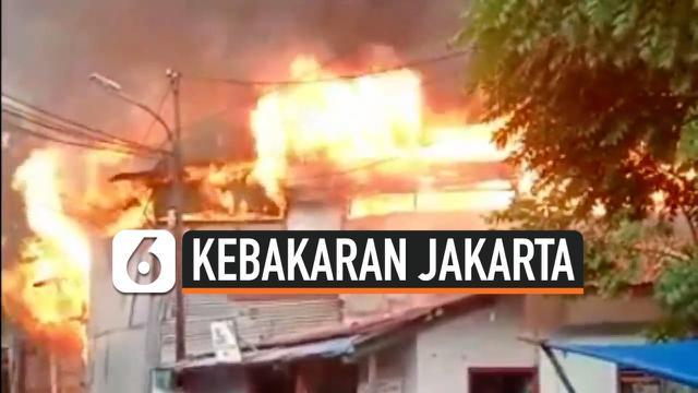 kebakaran bangunan liar thumbnail