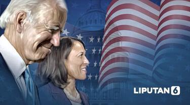 Banner Infografis Pelantikan Presiden AS Joe Biden & Wapres Kamala Harris. (Liputan6.com/Abdillah)