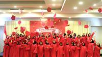 Sebanyak 50 perempuan muda Indonesia raih beasiswa dari Fair & Lovely (Liputan6/pool/Fair & Lovely)