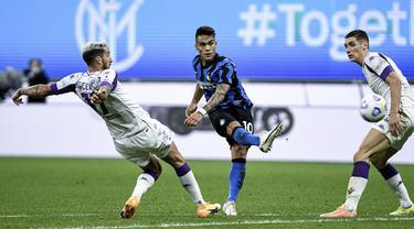 FOTO: Hujan Gol, Inter Milan Taklukkan Fiorentina di San Siro