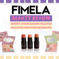 Fimela Beauty Review: Benefit Cheekleaders Palletes dan Rollover Reaction Haloblush