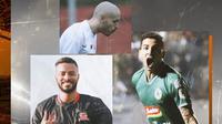 Liga 1 - Rafael Silva, Youssef Ezzejjari, Brian Ferreira (Bola.com/Adreanus Titus)