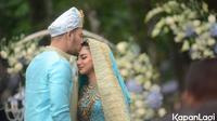 Ammar Zoni dan Irish Bella menikah (Kapanlagi.com/Bayu)