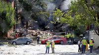 Ledakan Gas di Maryland AS, 2 Warga Tewas dan Belasan Hilang (NBCNews)