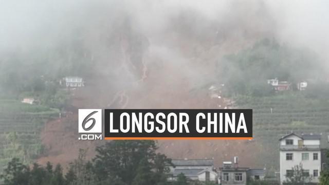 Provinsi Guizhou China dilanda bencana tanah longsor Selasa (23/7) malam. Hingga Kamis (25/7) jumlah korban terus bertambah hingga 15 orang. Puluhan orang lainnya masih dinyatakan hilang.