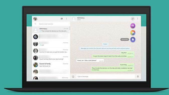 Aplikasi pesan singkat, WhatsApp, terus memperkaya fitur-fitur di perangkat mobile hingga desktop.