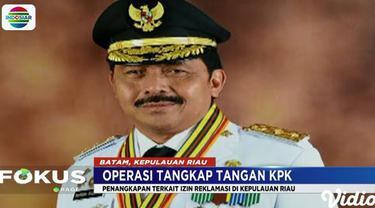 Jurubir KPK Febri Diansyah, membenarkan penangkapan enam orang, salah satunya kepala daerah Kepulauan Riau.