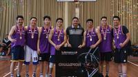 Dream team di LA Streetball Challenge The World 2019 berkesempatan mengikuti turnamen Streetball Internasional di Shanghai pada Oktober 2019 mendatang. (dok. LA Streetball Challenge The World 2019)