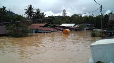 Bencana banjir di Malinau Kalimantan Utara