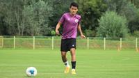 Gelandang Timnas Indonesia U-19, Witan Sulaeman, menyebut saat ini proses adaptasi dirinya dan pemain lain sudah berangsur membaik setelah sempat terkendala cuaca di Kroasia. (dok. PSSI)