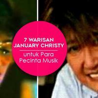 Warisan musik January Christy (Desain: Muhammad Iqbal Nurfajri/Bintang.com)