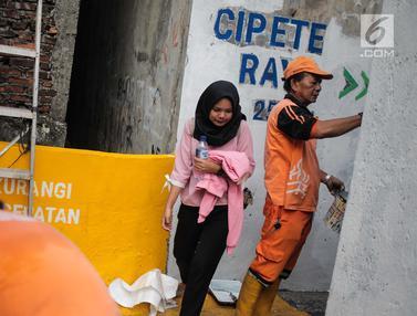 Peningkatan Aksesibilitas Jalan Menuju Stasiun MRT Cipete Raya