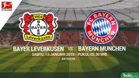 Bayer Leverkusen Vs Bayern Munchen (Bola.com/Adreanus Titus)