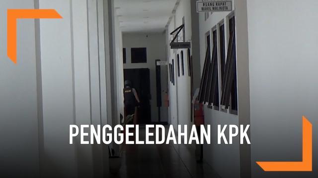 Belasan petugas KPK menggeledah ruangan kerja Wali Kota Tasikmalaya Budi Budiman. Saat ini belum diketahui apa kasus yang berhubungan dengan penggeledahan ini.