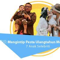 Mengintip Pesta Ulang Tahun Mewah 7 Anak Selebriti. (Foto: Adrian Putra/Bintang.com dan Instagram/nastusha.olivia.alinskie, Desain: Nurman Abdul Hakim/Bintang.com)