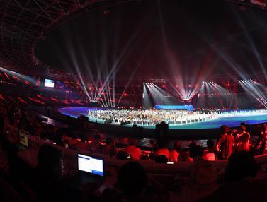 Kemeriahan Malam Penutupan Asian Games 2018