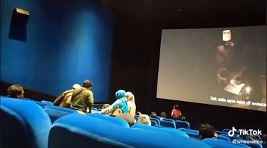 Viral Video Penonton The Conjuring Diduga Kesurupan, Film Dihentikan Sementara