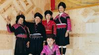 5 Generasi di Suku Yao yang mempertahankan rambut panjang mereka (dok Instagram @joyceszeng/https://www.instagram.com/p/BwcNhZUAfKf/Ossid Duha Jussas Salma)
