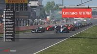 Esports Virtual Grand Prix Formula 1 (F1), Senin (11/5/2020) dini hari WIB. (Twitter/F1)