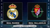 La Liga - Real Madrid Vs Real Valladolid (Bola.com/Adreanus Titus)