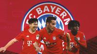 Bayern Munchen - Son Heung-min, Lucas Vazquez, Eduardo Camavinga (Bola.com/Adreanus Titus)