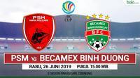 AFC Cup - PSM Makassar Vs Becamex Binh Duong (Bola.com/Adreanus Titus)