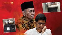 Banner Infografis Teror di Rumah Pimpinan KPK. (Liputan6.com/Triyasni)