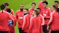 Barcelona (Miguel MEDINA / AFP)