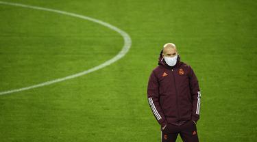 Intip Real Madrid Latihan Jelang Hadapi Borussia Moenchengladbach