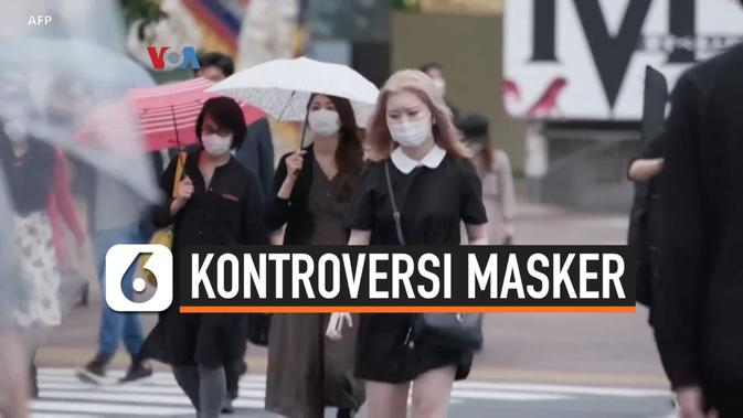 VIDEO: Korban Tewas Tembus 100 Ribu, Masker Masih Jadi Kontroversi