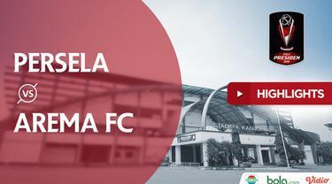 Berita video highlights Piala Presiden 2019 antara Persela Lamongan melawan Arema FC yang berakhir dengan skor 1-0 di Stadion Kanjuruhan, Sabtu (9/3/2019).